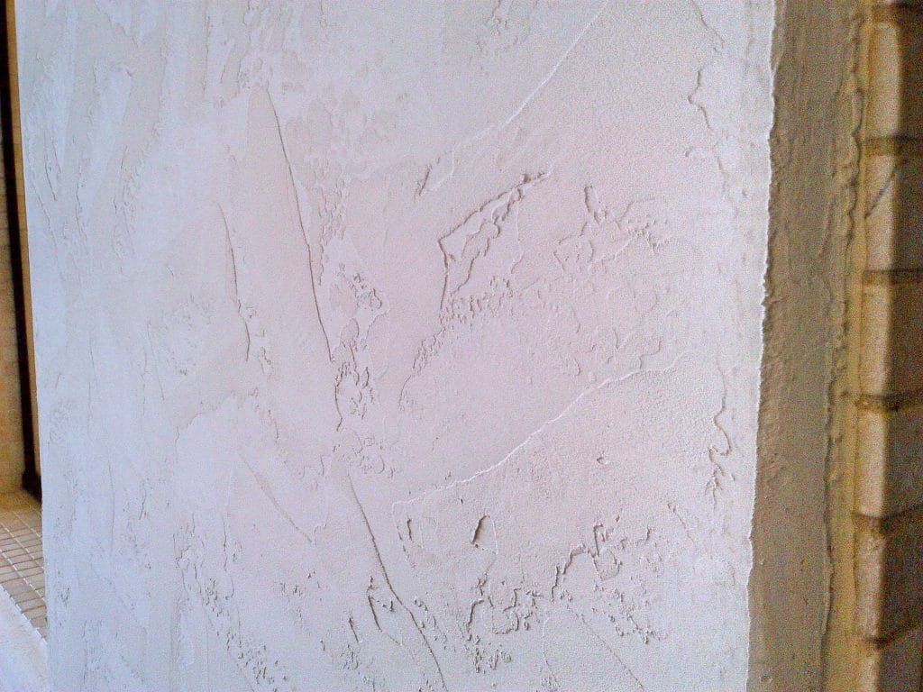 a wall before Wallpaper Removal and Textures